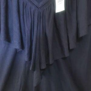 torrid Tops - NWT Torrid  Navy blue shirt